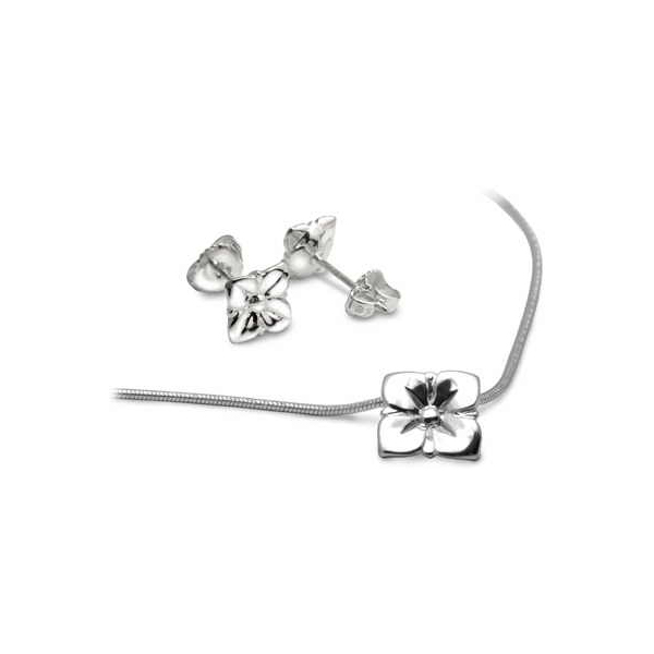 Silver flower collection