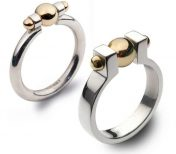 Bead and bolt rings