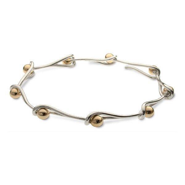 Small interlink bracelet