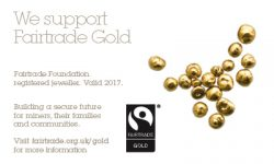 Registered to use Fairtrade gold
